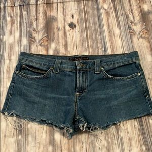 Juicy Couture Jeans Shorts Cutoffs